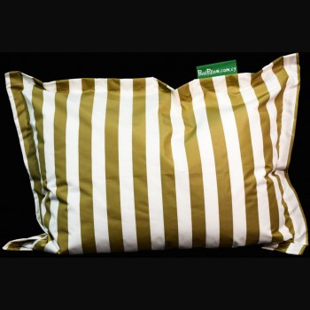 Thick Beige and White Stripe