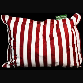 Thick Red and White Stripe